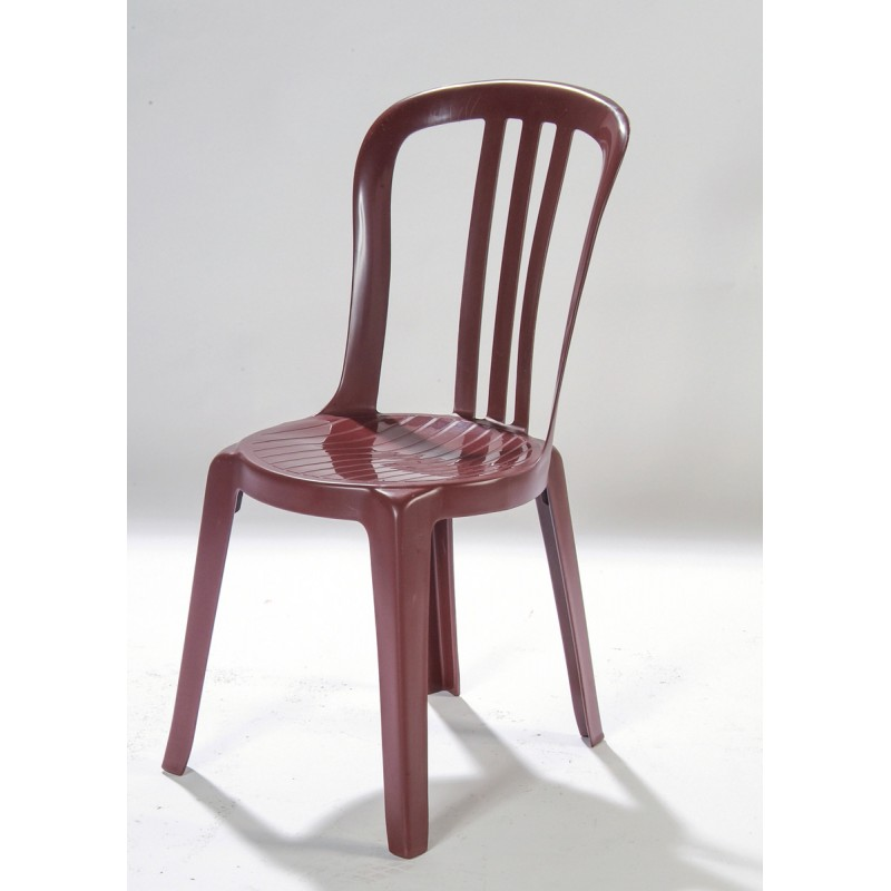 Chaise bordeaux en r sine - Chaise resine blanche ...