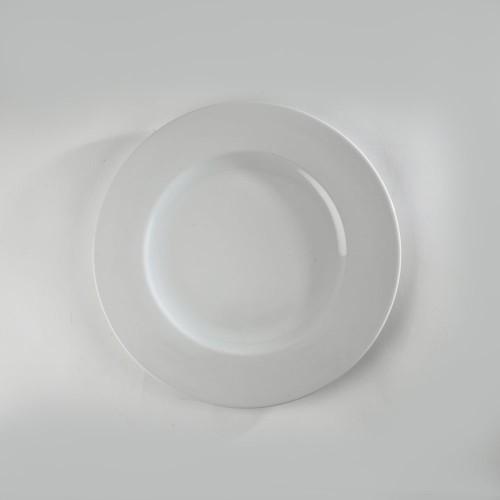 Assiette présentation blanche
