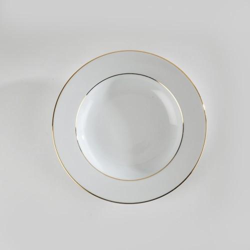 Assiette creuse FIlet or