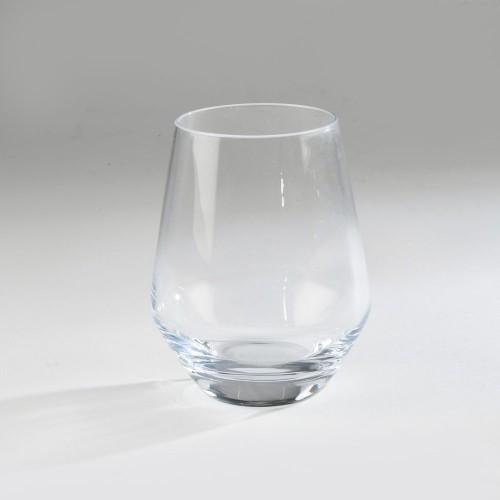 Verre goblet blanc