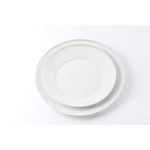Assiettes plate platine