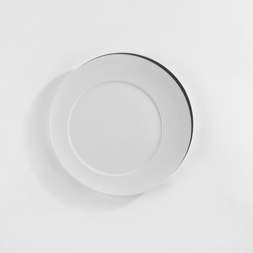 Assiettes plate platine