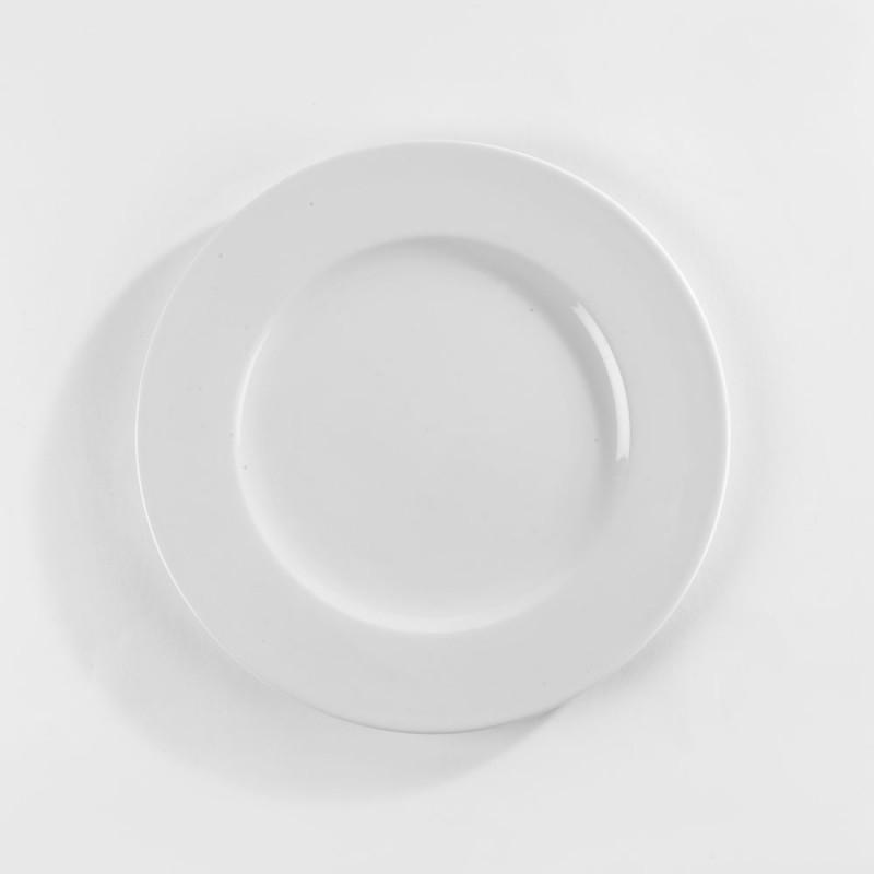 Assiette Plate Porcelaine Blanche L Gance